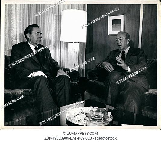 Sep. 09, 1982 - The United States Mission To The United Nations, New York United States Secretary of State, George Schultz
