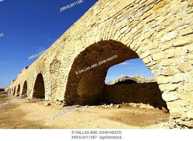Africa, North Africa, Tunisia, Tunis, Carthage, Roman Aqueduct and Cisterns