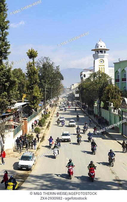 Durbar Marg Avenue, Kathmandu, Nepal