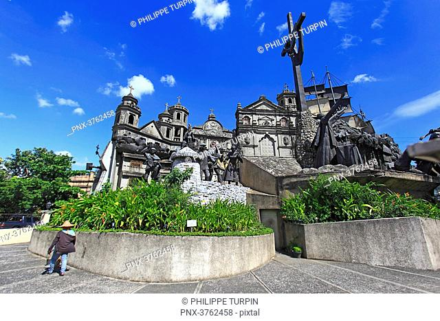 Philipins, Cebu City. Cebu Island. The Heritage of Cebu Monument