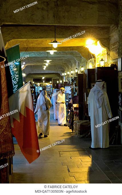 Qatar - Doha - Souk Waqif - Shop in the souk