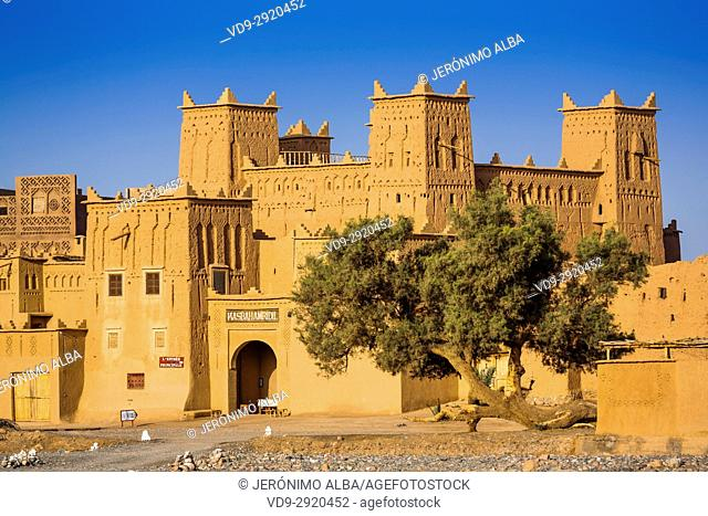 Hotel Kasbah Amridil, Dades Valley, Skoura. Morocco, Maghreb North Africa