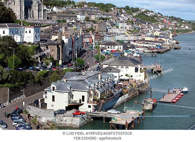 Cobh is a town on the south coast of County Cork, Ireland