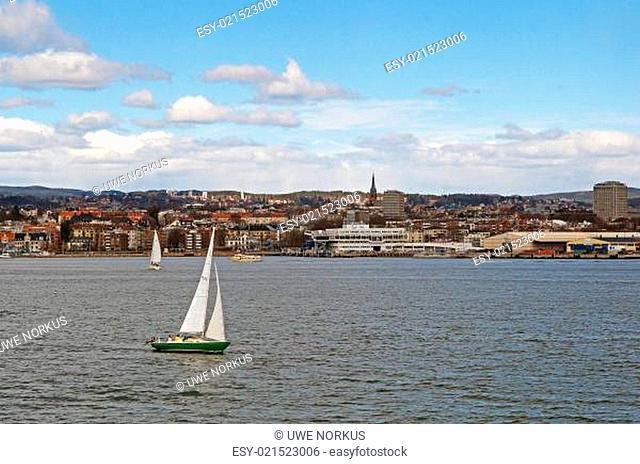Hafen Oslo Norwegen