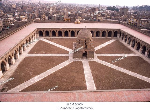 Mosque of Ibn Tulun, Built AD 876-879, Cairo, c20th century. Artist: CM Dixon