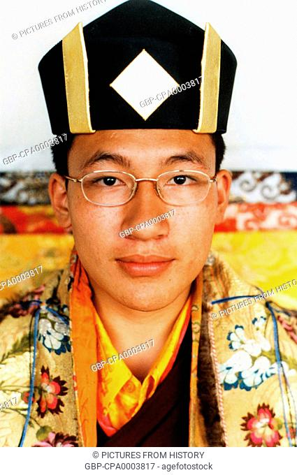 China / Tibet: Qoigyijabu (Gyancain Norbu), recognised as the 11th Panchen Lama by the People's Republic of China
