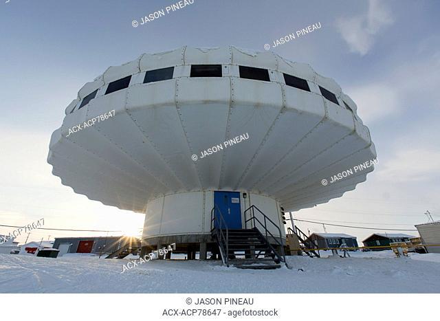 A government research centre in Igloolik, Nunavut, Canada