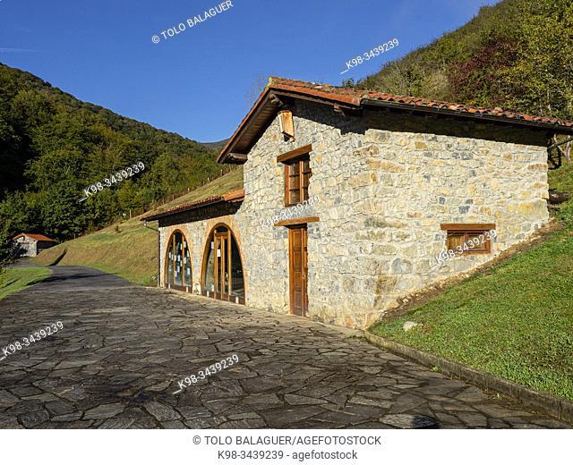 casa del parque, parque natural del Saja-Besaya, Cantabria, Spain