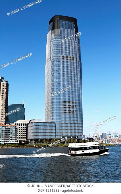 The Goldman Sachs Tower, Jersey City, New jersey, USA  The tower is the tallest building in New Jersey at 42 flooers and 791 feet  The building which was...