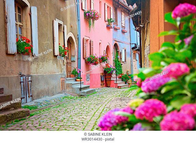 Eguisheim im Elsass, Frankreich