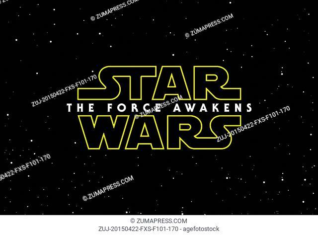 April 22, 2015 - Hollywood, USA - STAR WARS: EPISODE VII - THE FORCE AWAKENS (2015).J.J. ABRAMS (DIR)