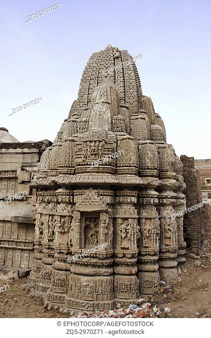 Ruins of the Rudramala or the Rudra Mahalaya Temple, Started in 943 AD by Mularaja and completed in 1140 AD by Jayasimha Siddharaja