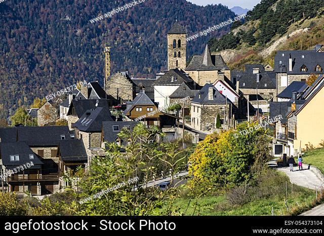 Vilamos, valle de Aran, Catlunya, cordillera de los Pirineos, Spain, europe