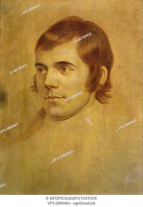 Archibald Skirving - Robert Burns, 1759 - 1796. Poet - National Galleries of Scotland