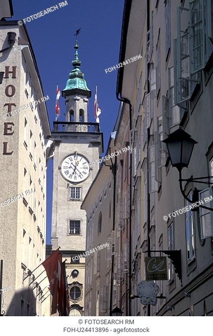 Salzburg, Austria, Old Town Hall in downtown Salzburg