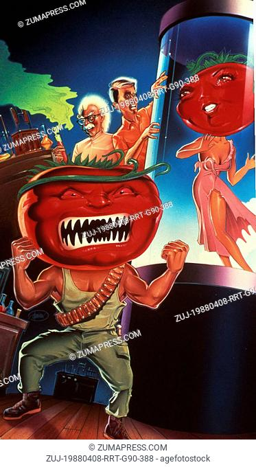 RELEASE DATE: April 1988. MOVIE TITLE: Return of the Killer Tomatoes. STUDIO: Four Square Productions. PLOT: Mad scientist Professor Gangreen is cooking up the...