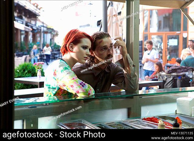 Evan Rachel Wood & Shia Labeouf Characters: Gabi Banyai, Charlie Countryman Film: The Necessary Death Of Charlie Countryman; Charlie Countryman (USA/RO 2013)...