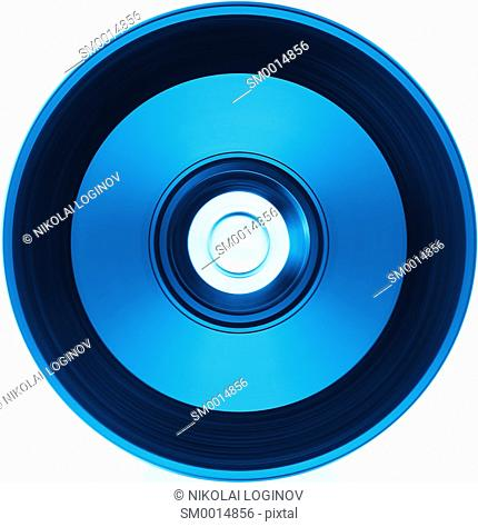 Blue DVD compact disc illustration background hd