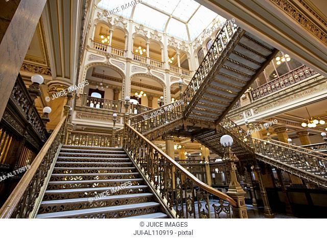 The Palacio de Correos de Mexico (Postal Palace of Mexico City) Mexico City, Mexico