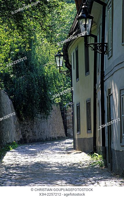 Novy Svet street, Hradcany district, Prague, Czech Republic, Europe