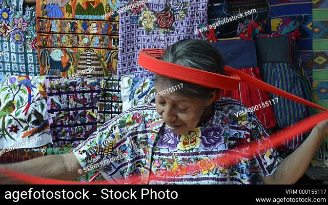 Concepcion Ramirez is the woman Tzutujil appears on coins of 25 cents of Guatemala. Woman in traditional dress as profiled on 25 cent coin Santiago Atitlan...