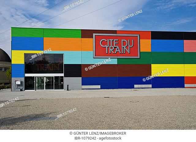 Cite du Train, train museum, Mulhouse, Alsace, France, PublicGround