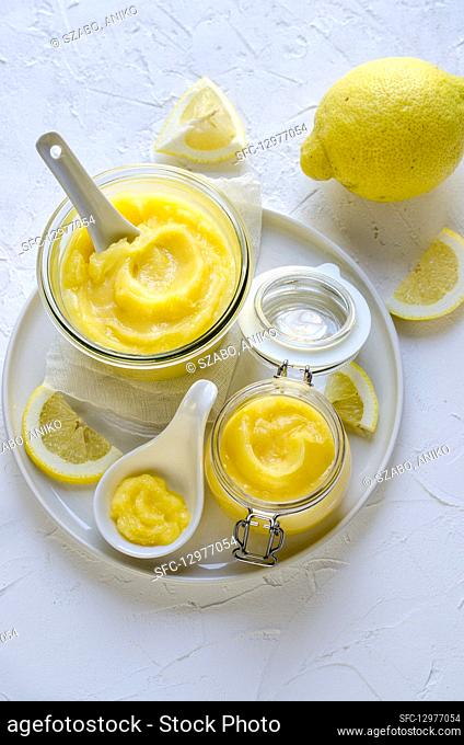 Candied lemon cream