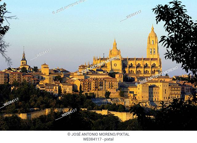 Cathedral, Segovia. Castilla-Leon, Spain