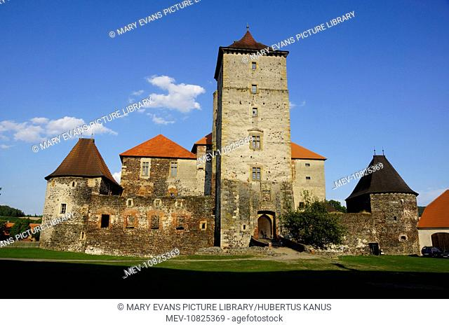 The Czech Republic, Svihov (Schwihau): Svihov Castle