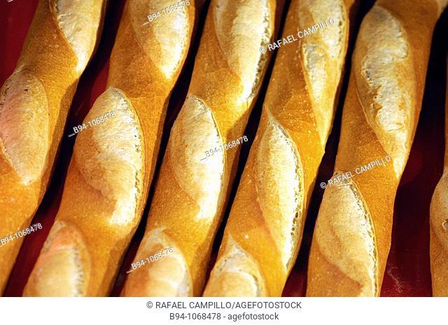 Bread. Barcelona, Catalonia, Spain