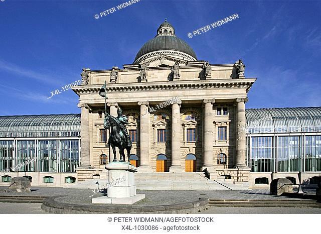 Staatskanzlei Government of Bavaria in Munich Germany