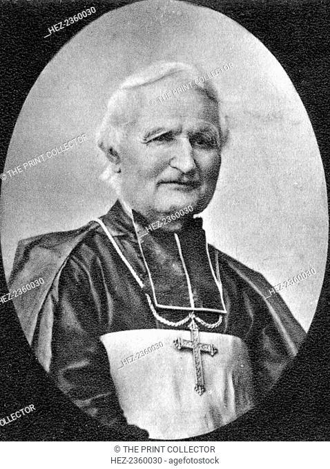 Felix Dupanloup, French clergyman, 19th century. Dupanloup (1802-1878) was appointed Bishop of Orleans in 1849 and was influential in the campaign that led to...