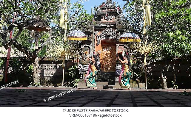 Indonesia, Bali Island, Batubulan City, Barong Dance
