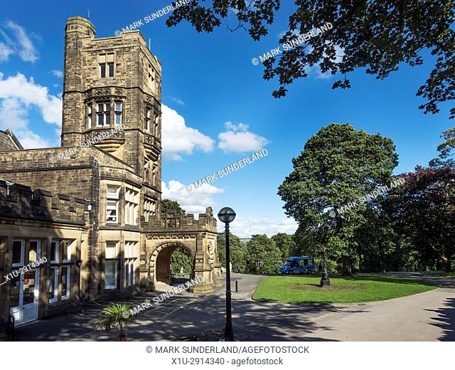 Cliffe Castle Museum in Keighley West Yorkshire England