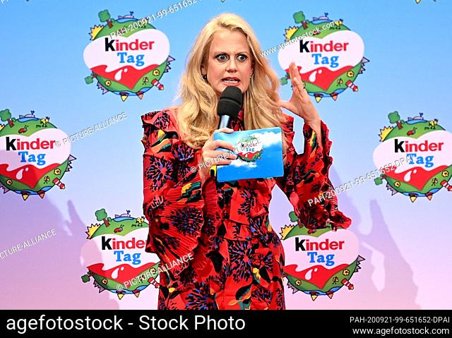 """20 September 2020, Berlin: Barbara Schöneberger will be on stage at the """"""""kinder Tag 2019"""""""" at Radialsystem V. On the occasion of World Children's Day"""
