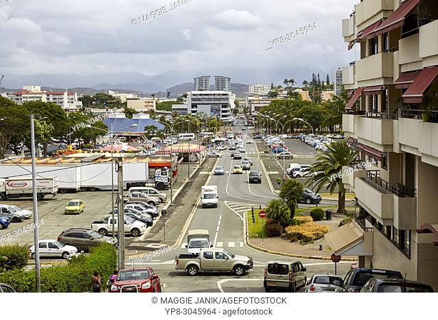 Rue Georges Clemenceau, Noumea, New Caledonia (Nouvelle-Caledonie)