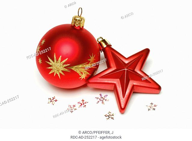 Christmas decoration Christmas ball cut out object