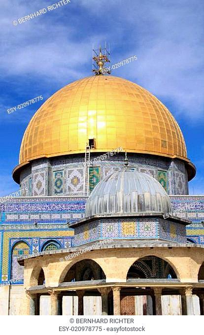Felsendom in Jerusalem. Israel