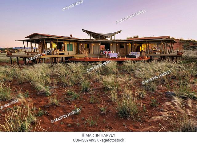 Mountain view suite.Dunes Lodge.Wolwedans NamibRand Nature Reserve, Namibia