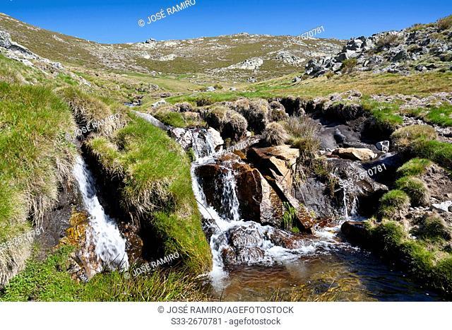 Meadows of Centenera. Sierra de Gredos. Mijares. Avila. Castilla Leon. Spain. Europe