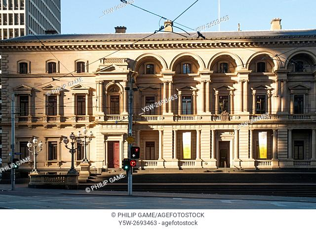 Victorian State Treasury building, Spring Street, Melbourne, Australia