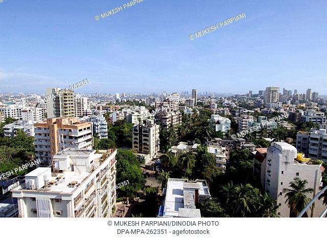 Skyline from Rustomjee Buena Vista building, Mumbai, Maharashtra, India, Asia