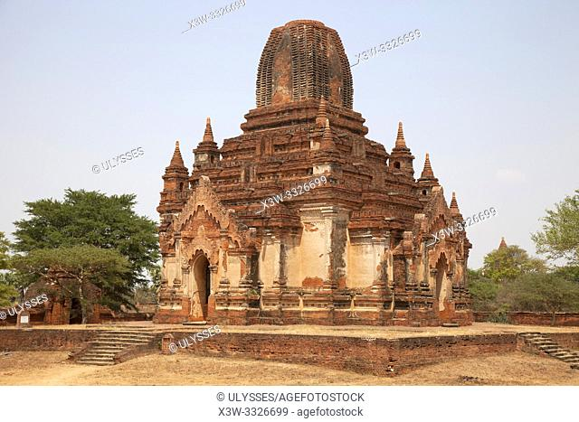 Thambula temple, Old Bagan village area, Mandalay region, Myanmar, Asia