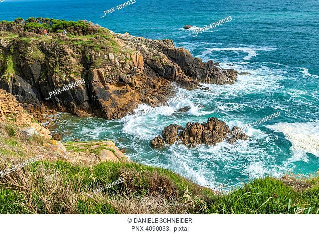 France, Brittany, Riec sur Betton, Pointe de Kherhermen