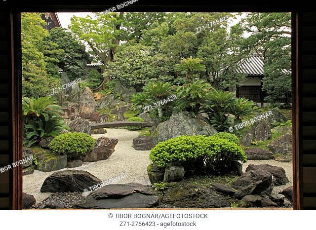 Japan, Kyoto, Daisho-in Temple Garden,