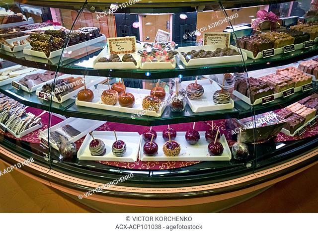 Fudge store on Clifton Hill, Niagara Falls, Ontario
