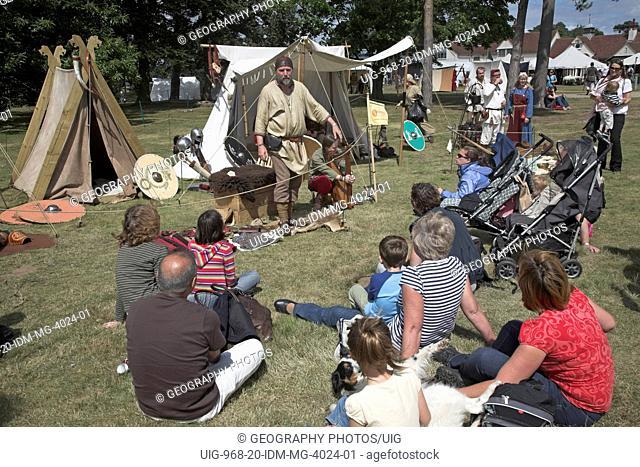 Living History event, Sutton Hoo, Suffolk, England