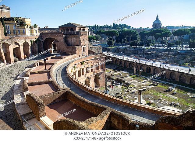 Mercati di Traiano. Rome, Italy