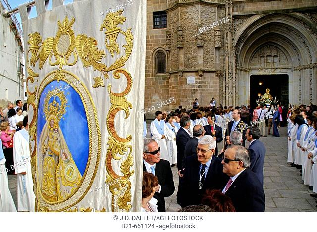 Virgin of Argeme, at the Cathedral of Coria. Cáceres province. Extremadura. Spain