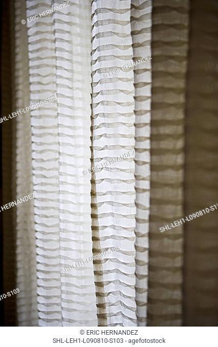 Sheer curtains, detail
